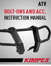 Instructions Bolt-on and Accessories
