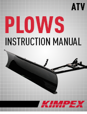 Instructions Plow