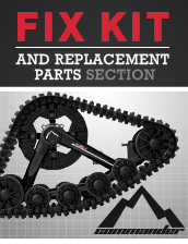 Fix Kit and Replacement Parts (Commander Tracks)