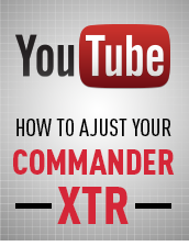Video - Commander XTR Adjustments